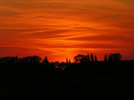 Fire sky by Mojito24
