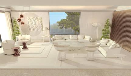 Living room by Akima86