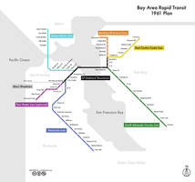 BART, as planned in 1961