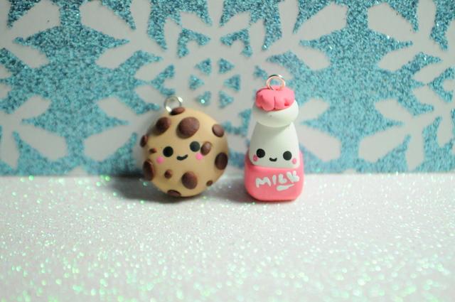 Cookie and Milk Best Friend Charms by MissKawaiiKenzie