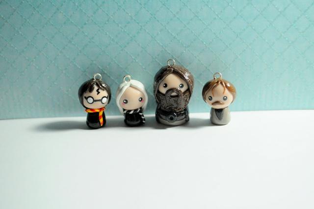 Harry Potter Chibi Charms by MissKawaiiKenzie