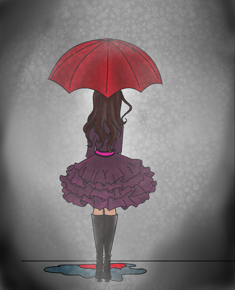 Gloomy Snow by TheGirlF