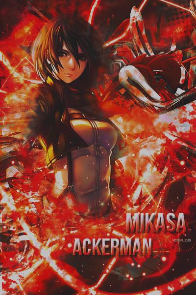 Mikasa Ackerman by ChenJing35