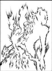 Criatura 023 - Fuego by Juracan