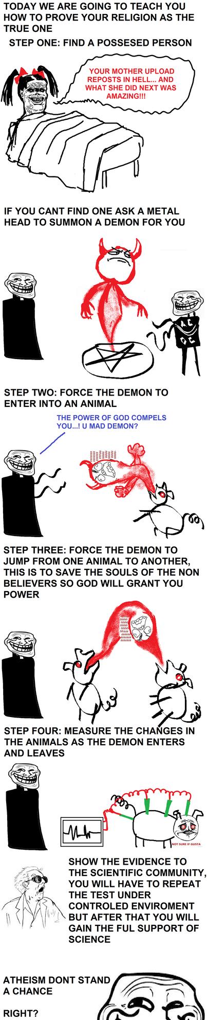 Troll Religion by Juracan