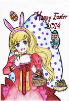 Happy Easter 2014 ^ ^ by KisaMegumi