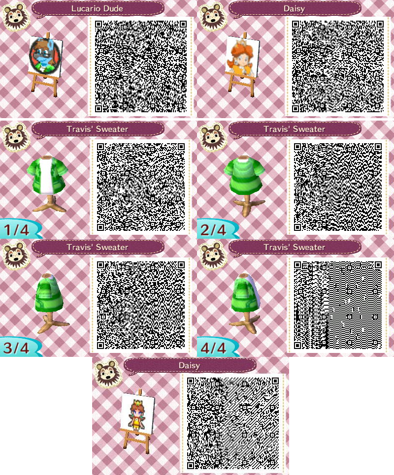 Animal Crossing New Leaf Patterns 01 By Travis Cj On Deviantart