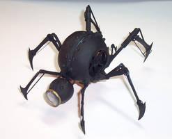 Clockwork Spider-Bomb by cazouillette