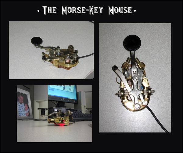 The Morse Key Mouse by cazouillette