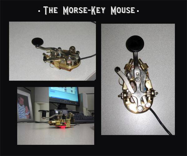 The Morse Key Mouse by cazouillette