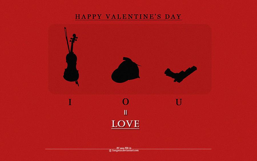BBC Sherlock:Happy Valentineu0027s Day 1 By Liangmin ...