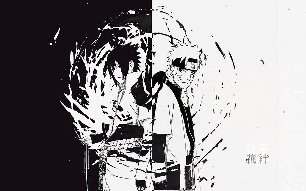 Naruto: sasunaru by liangmin