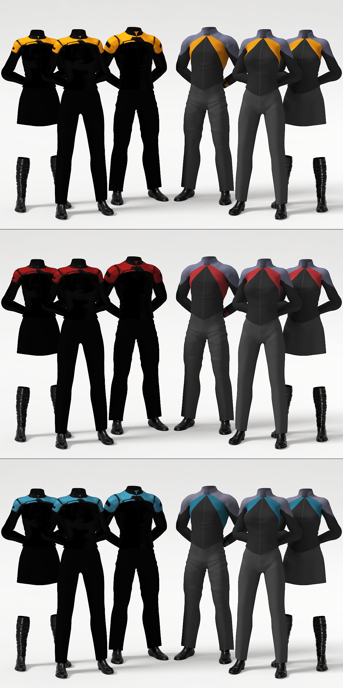 Star Trek Post-Film RPG Uniform Concept by Zaarin1 on ...