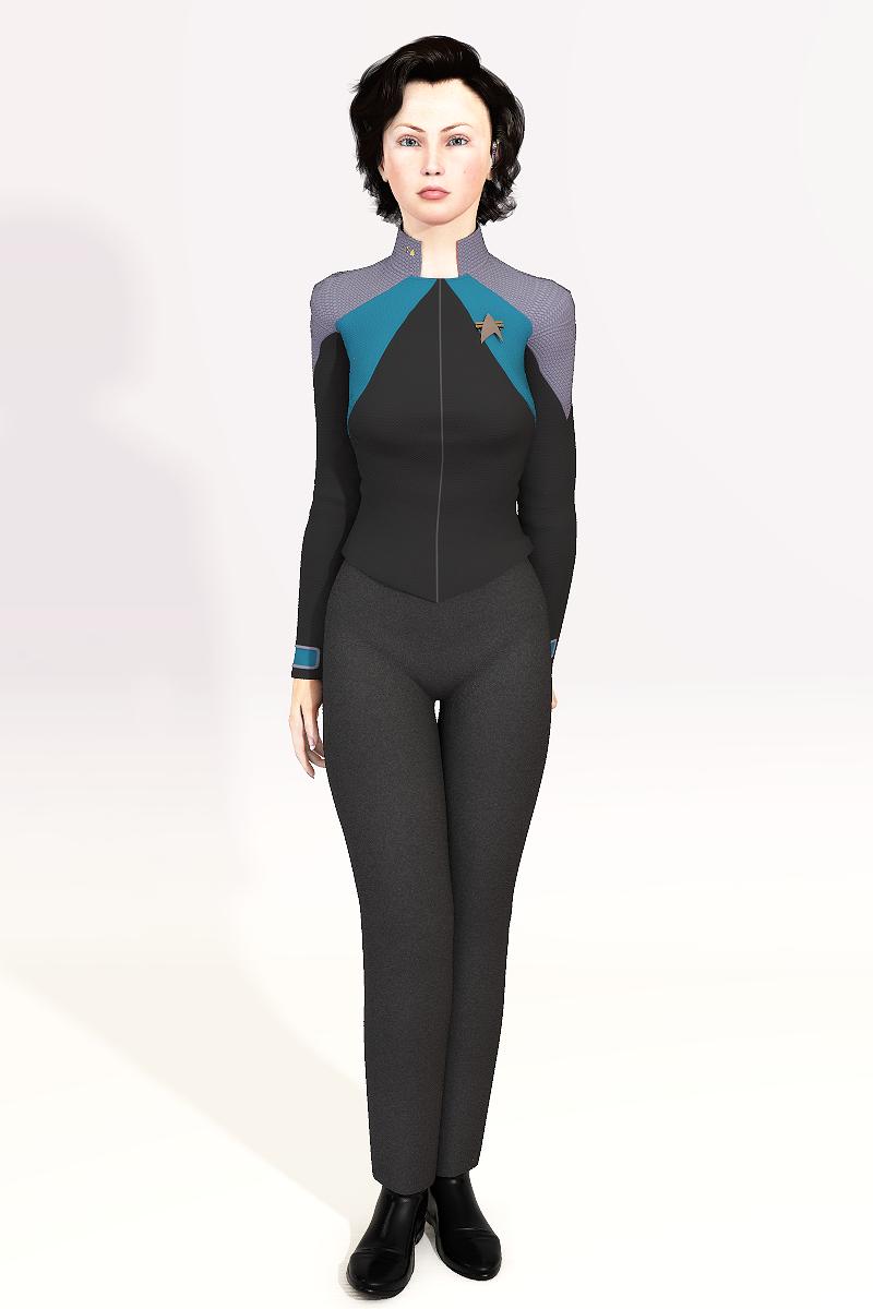 Lieutenant Commander Eve Malkin