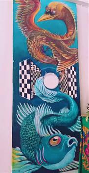 dragon and Fish