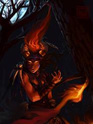 Fire Medicine by EtLuxFuit