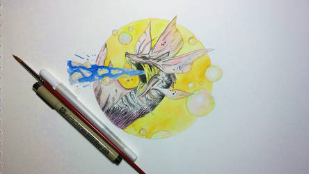 Mizutsune Watercolour Sketch