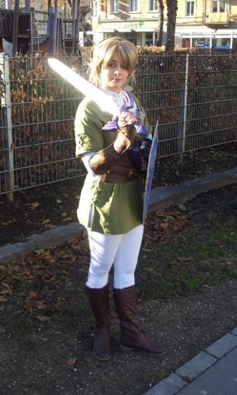 costume Female link cosplay