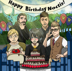 Happy Birthday Noctis by Lindsay-N-Poulos