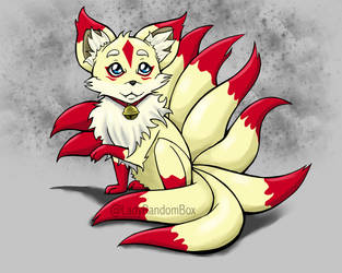 Kiko the 9 tailed fox by Lindsay-N-Poulos
