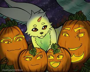 Happy Halloween FFXV by Lindsay-N-Poulos