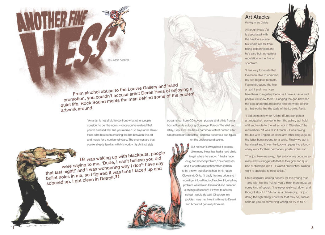 Magazine spread hess by obsidian design on deviantart for Top design mag