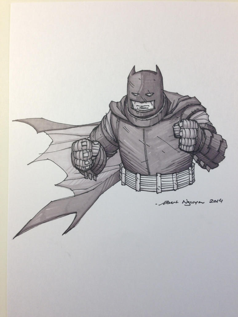 Batman Sketch by nguy0699
