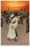 Han and Leia Kiss