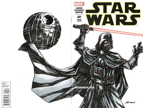 Darth Vader Star Wars sketch cover