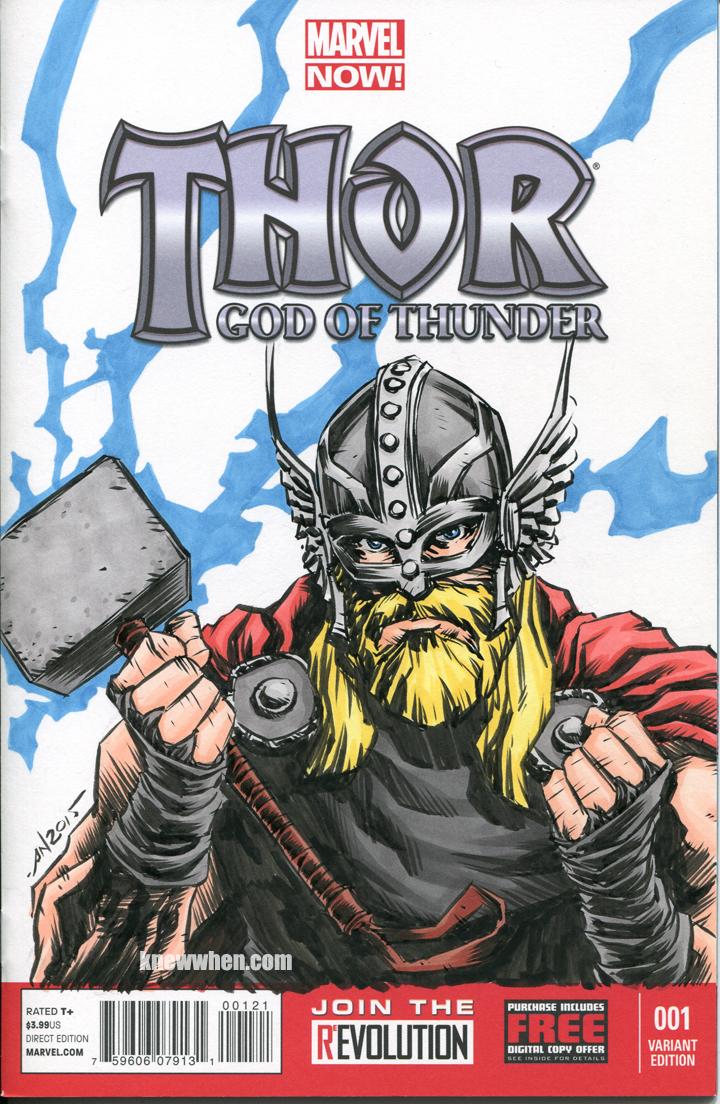 Thor God Of Thunder by nguy0699