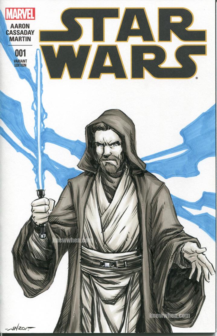 Obi Wan Kenobi Sketch Cover by nguy0699
