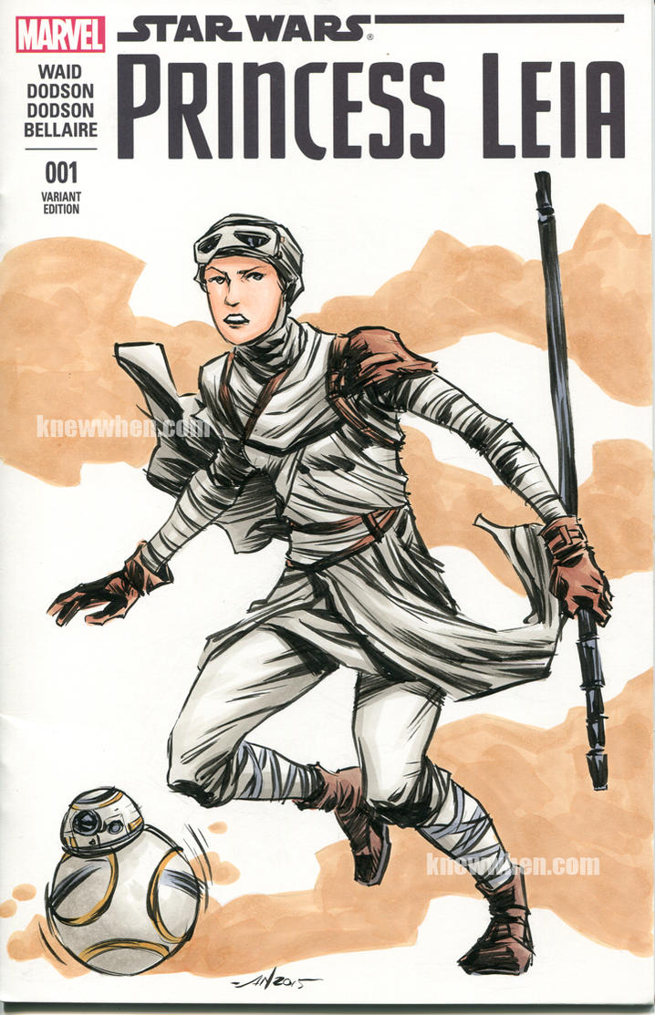 Rey Sketch Cover by nguy0699