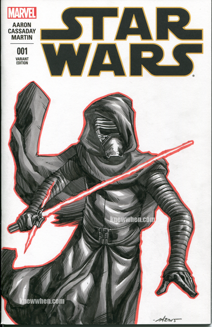 Kylo Ren sketch cover by nguy0699