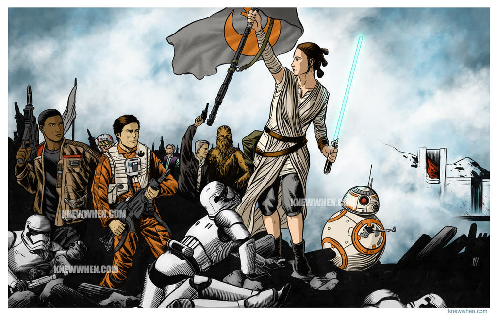 Rey Leading The People By Nguy0699 On Deviantart