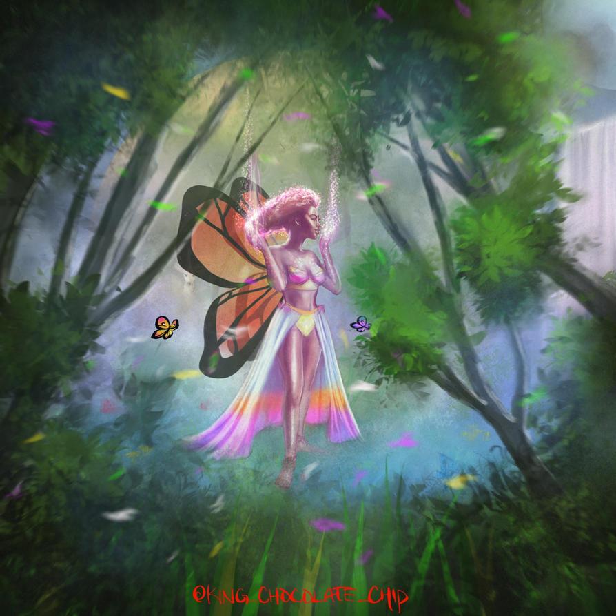 Forest Faerie by heiesuke