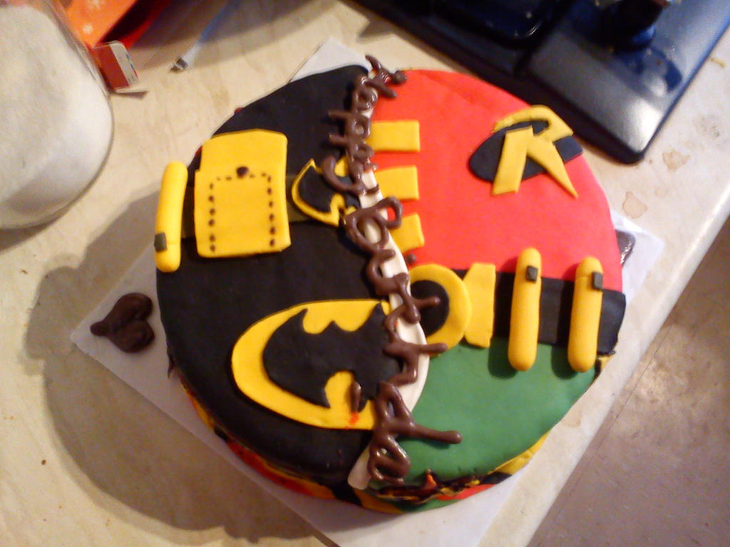 My Awesome Birthday cake by Azraial