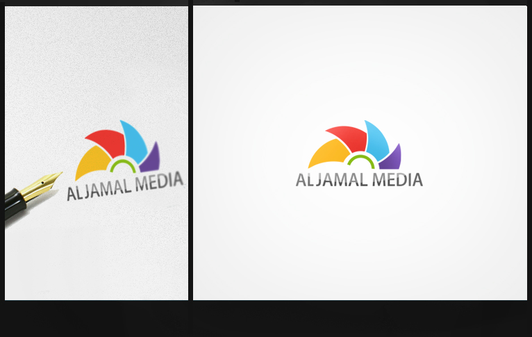 Aljamal Media Logo by HaithamYussef