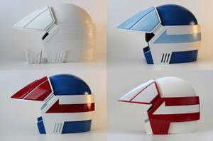 Robotech Helmets poster