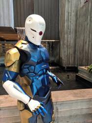 Gray Fox cyborg ninja