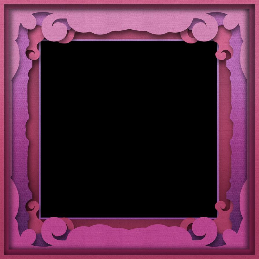 Papercut Shadowbox Frame by caffeine2 on DeviantArt
