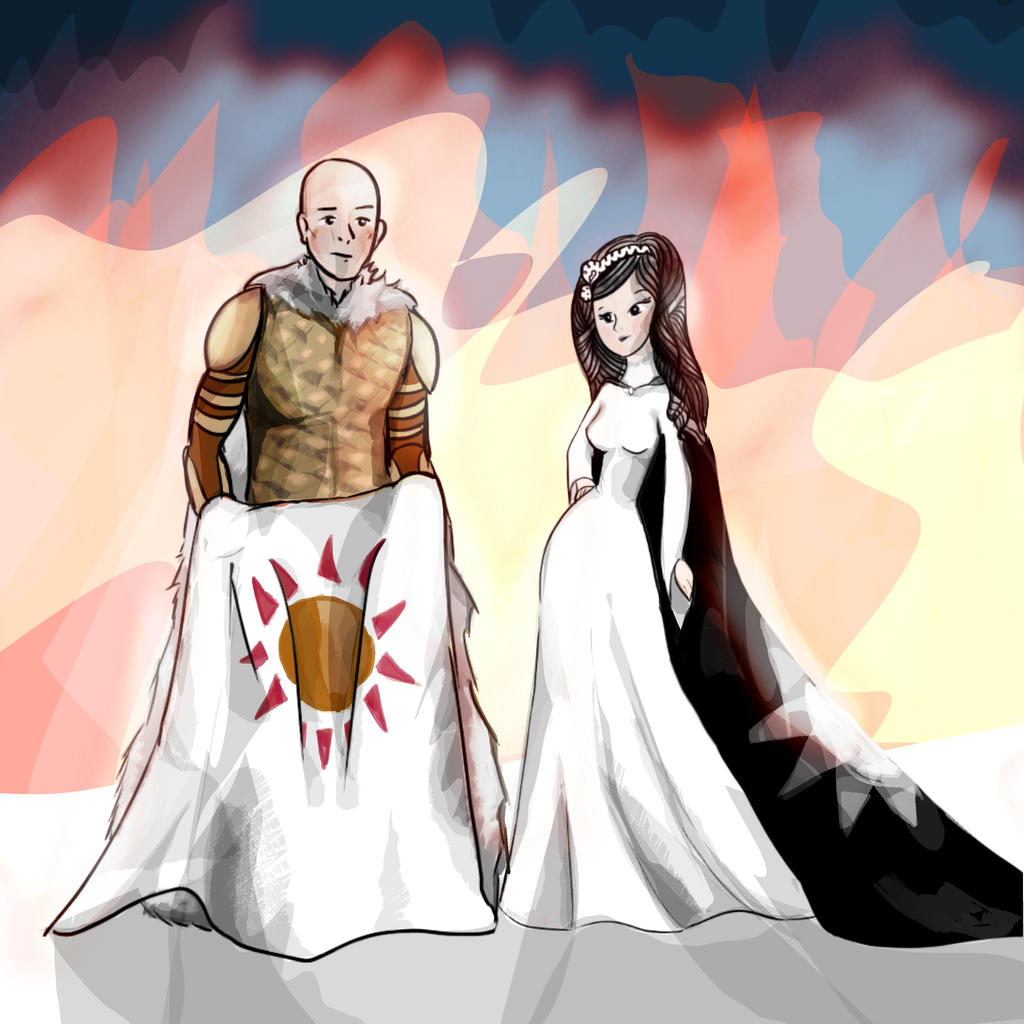 Red Hot Wildling Wedding