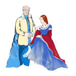 Jon Arryn - Lysa Tully Wedding Portrait