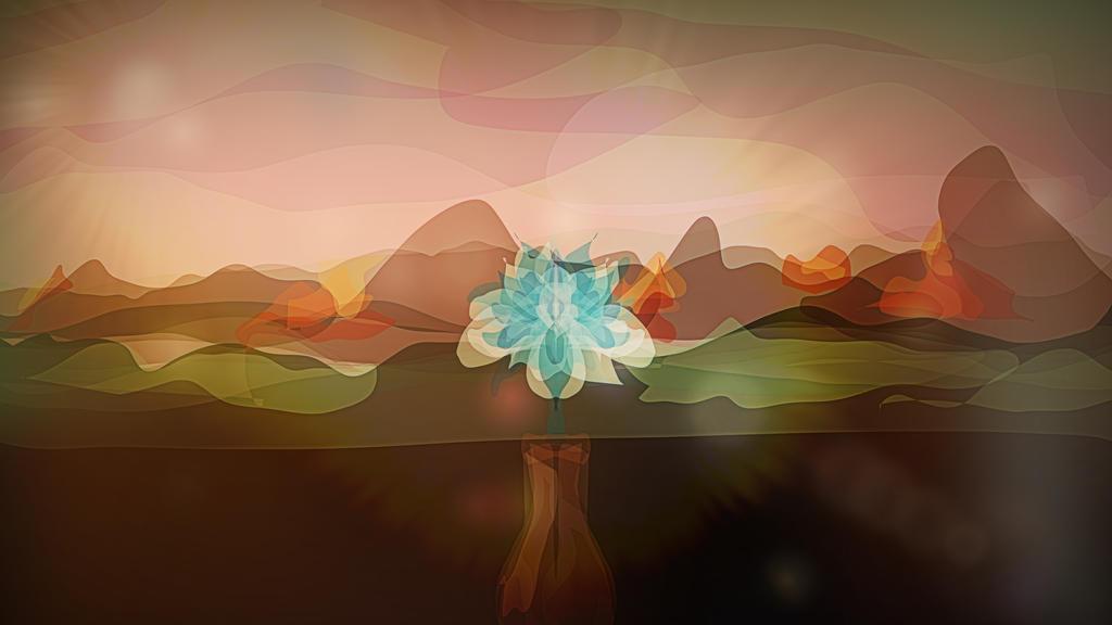 The Glass Flower by caffeine2