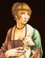 The FRAUEN with an Ermine by FrauCain