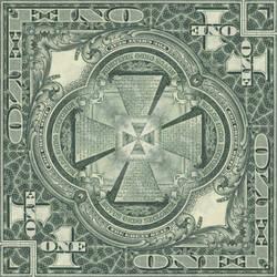 Great Seal of the U.S. - Mirror Mandala 1 by EyeOfHobus