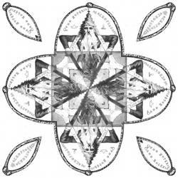 Seal of Solomon - Strange Mandala 1 by EyeOfHobus