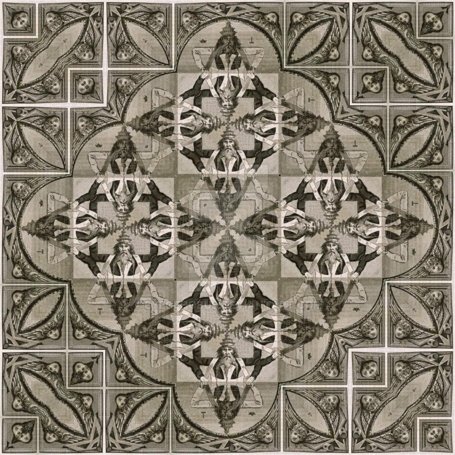 Seal of Solomon 2 - Strange Mandala 1-1 by EyeOfHobus on DeviantArt