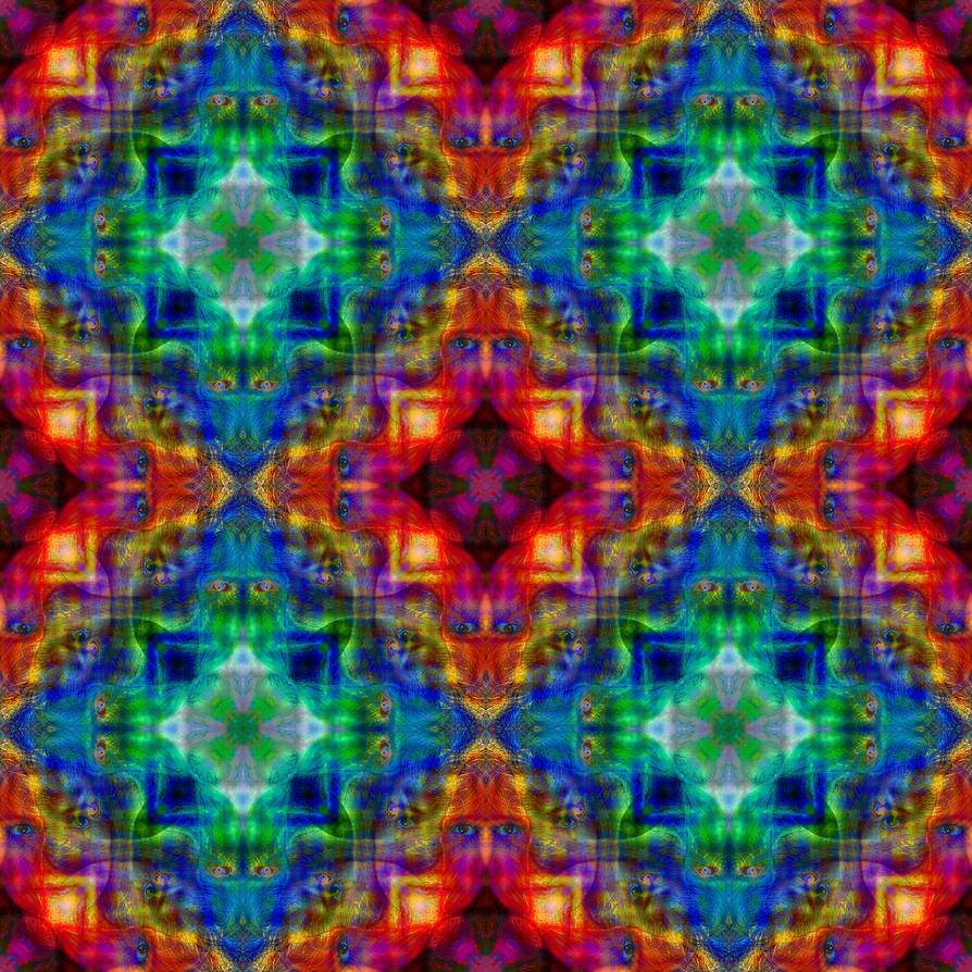 Spirits of the Forest Mandala 1 - Inverted Quad