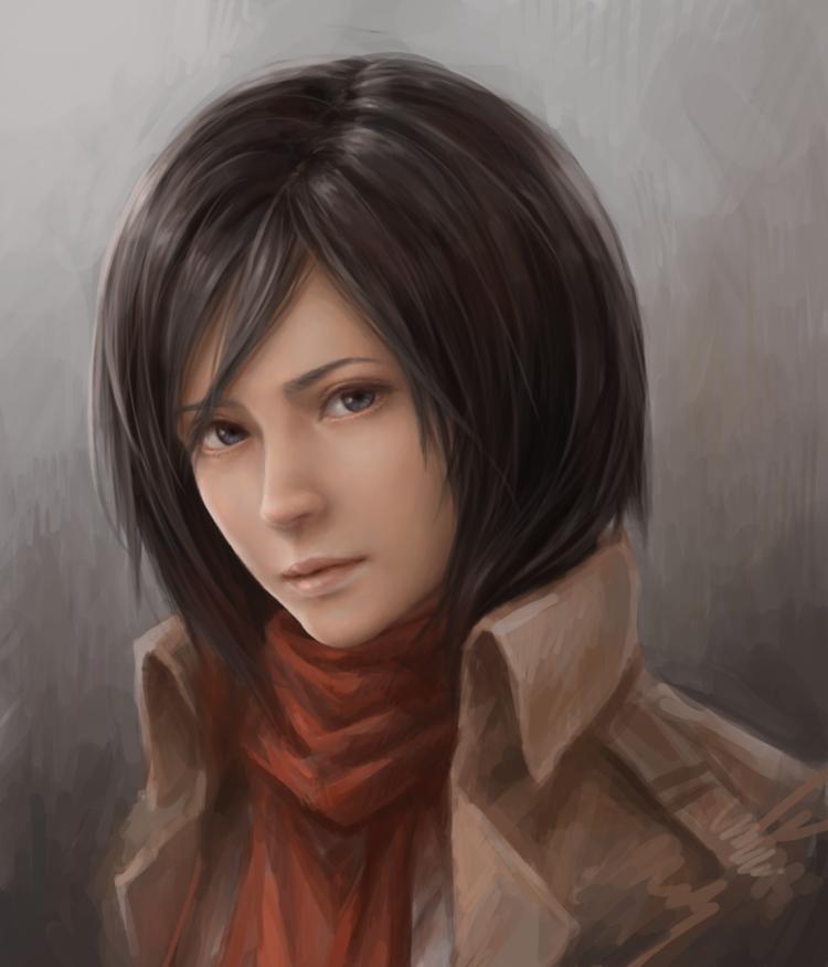Mikasa Ackerman by JxbP