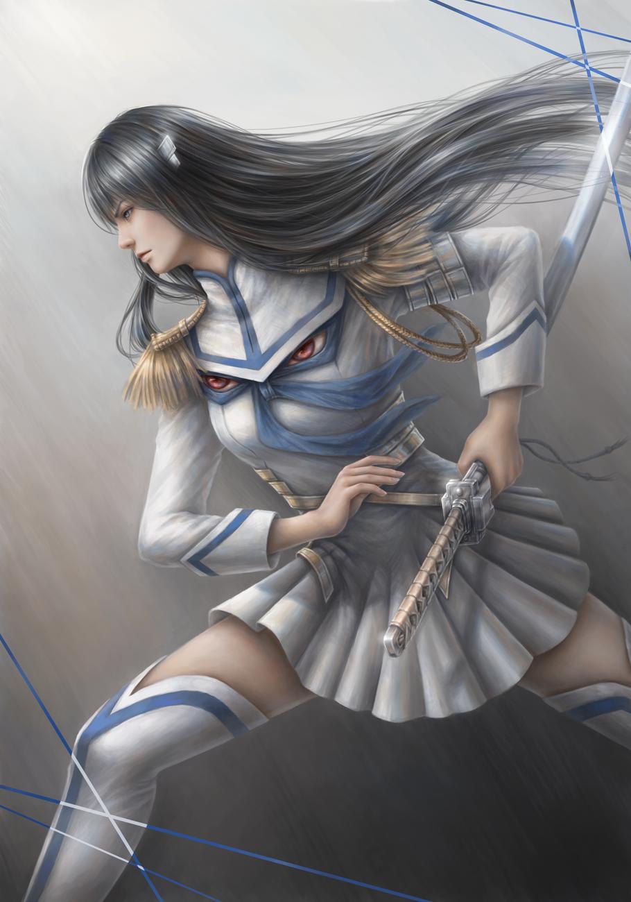 Kiryuin Satsuki - Kill la Kill by JxbP